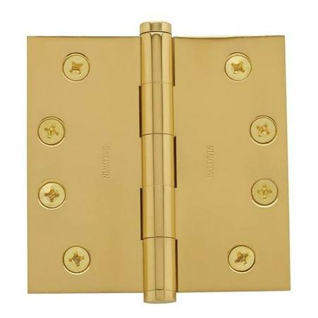 Baldwin 4'' H x 4'' W Butt Bearing Single Door Hinge