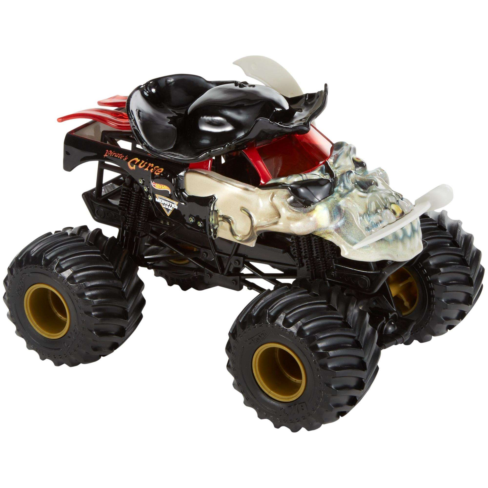 Hot Wheels Monster Jam Pirate's Curse Vehicle by Mattel
