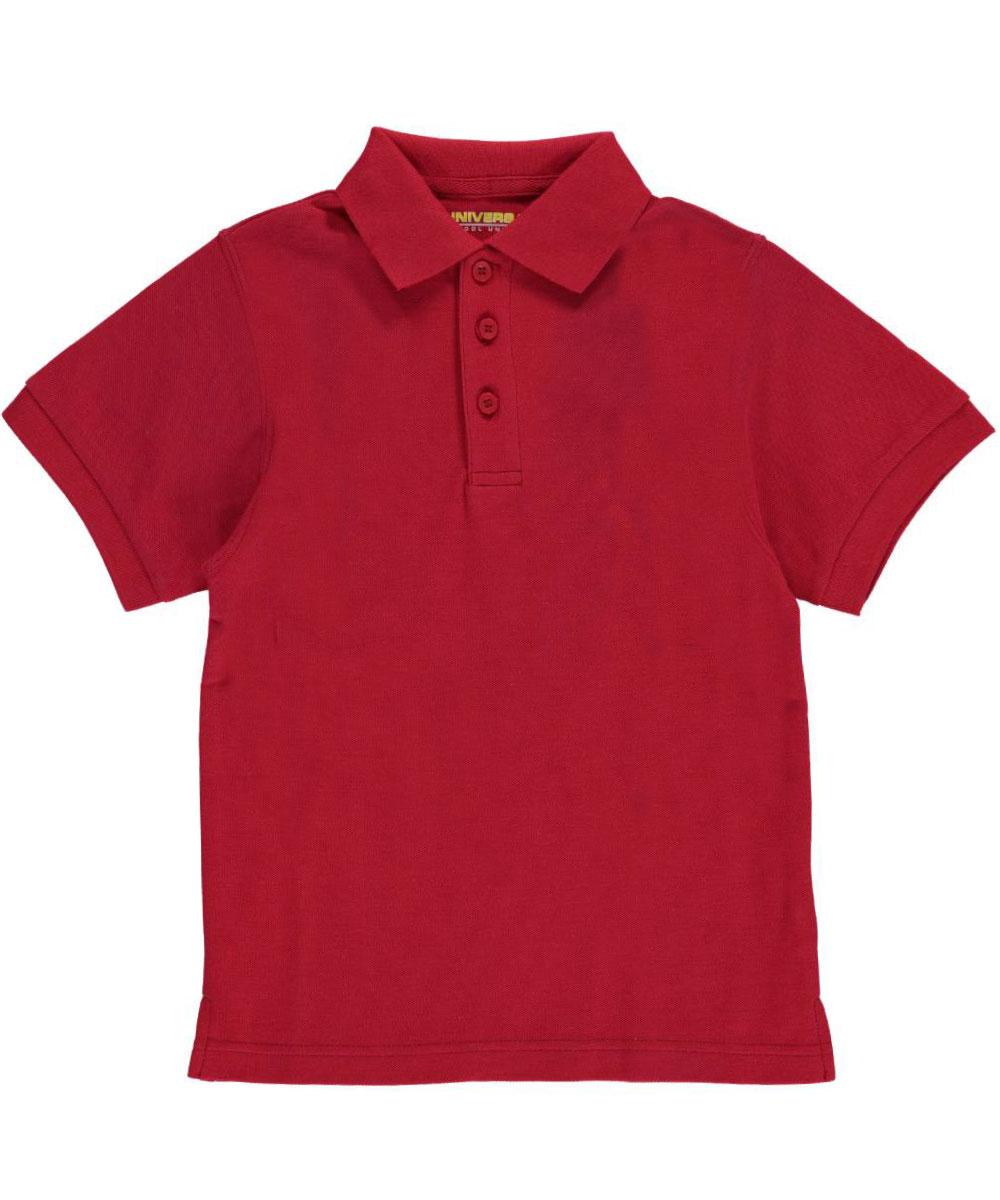 Universal Little Boys' S/S Pique Polo (Sizes 4 - 7)