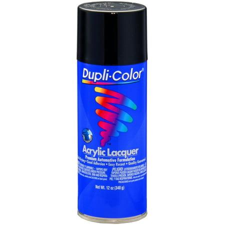 Shiny Black Lacquer - Krylon DAL1677 Dupli Color General Purpose Lacquer Gloss Black 12 Oz. Aerosol