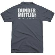 The Office Dunder Mifflin (Back Print) Mens Polo Shirt