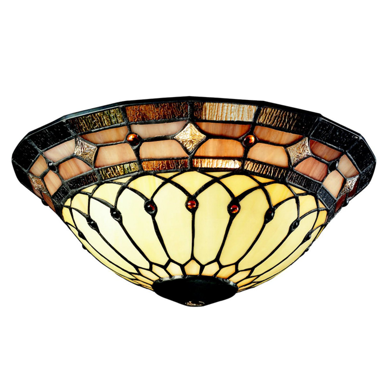 Kichler 340001 11.81 in.Tiffany Universal Art Glass Bowl