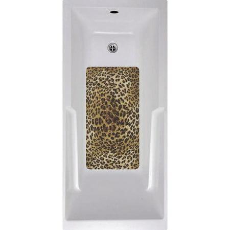 No Slip Mat By Versatraction Cheetah Bath Tub And Shower