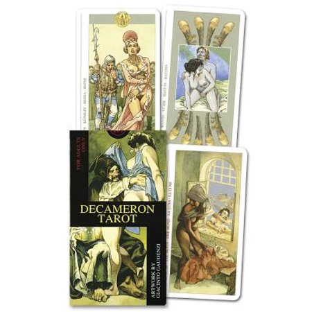 Decameron Tarot Deck : Boxed 78-Card Set [With Instruction Booklet]
