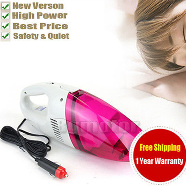 12V Car Hand Vacuum Portable High Power Auto Handheld Wet Dry Dust Cleaner by