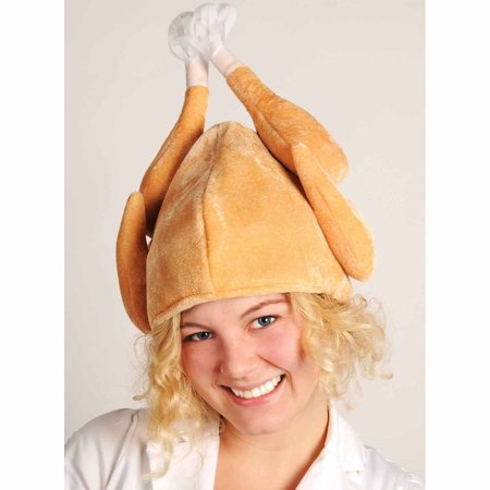 Plush Turkey Hat Adult Halloween Accessory](Loom Band Halloween Hat)
