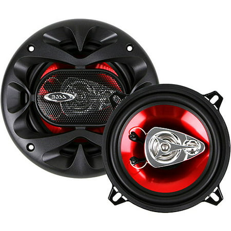 "Boss Audio CH5530 CHAOS Series 5-1/4"" 3-Way, Full Range Car Speakers (Pair of Speakers)"