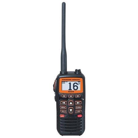 Standard Horizon Hx210 6W Compact Floating Handheld VHF, Black ()