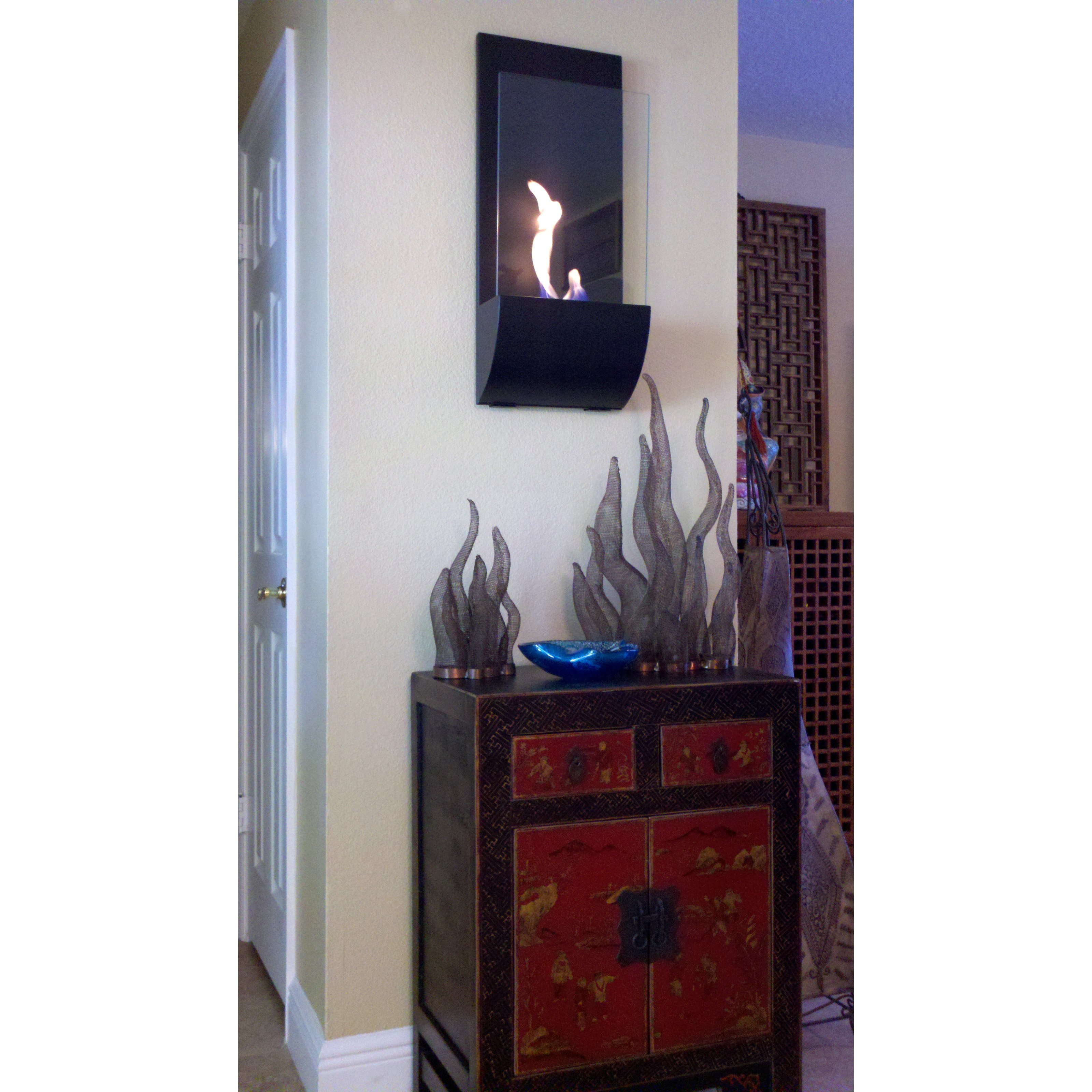 Nu-Flame Torcia Wall Mounted Fireplace