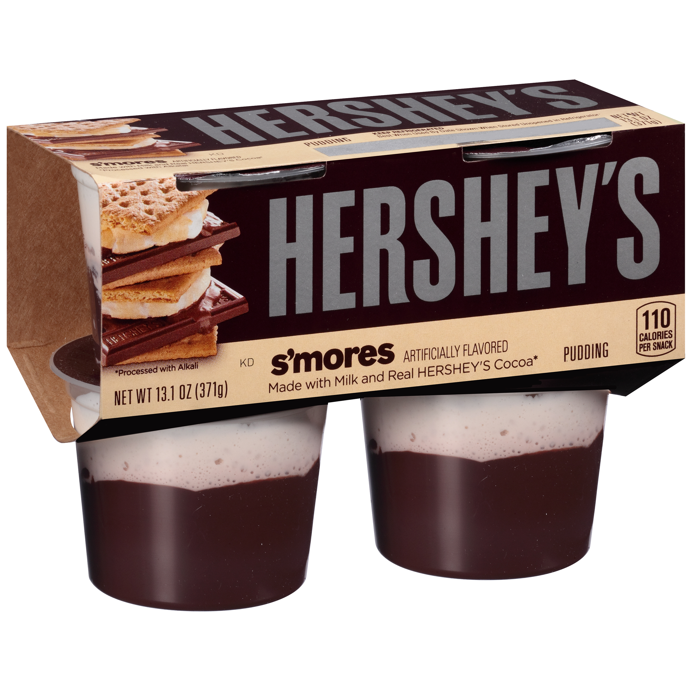 Hershey's S'mores Pudding, 3.275 Oz., 4 Count