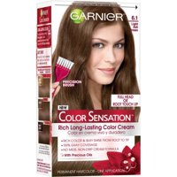 Garnier Color Sensation Hair Color Cream, 8.21 Sweet Lavender Dreams (Iridescent Purple), 1 kit