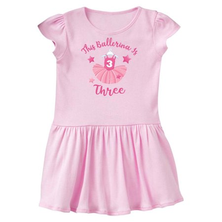 Ballerina 3rd Birthday Toddler Dress (Ballerina Birthday)