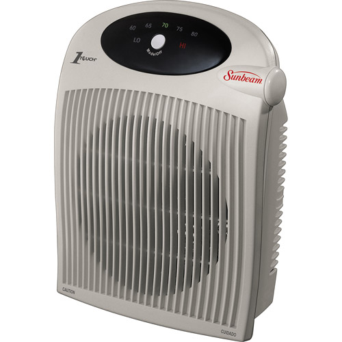 Sunbeam Portable Heater Fan with ALCI Cord for Wet Area Protection, SFH442-WM1