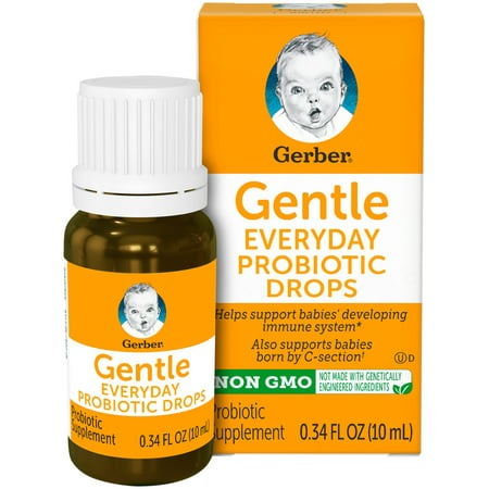 Gerber Gentle Everyday Probiotic Drops, 0.34 fl.