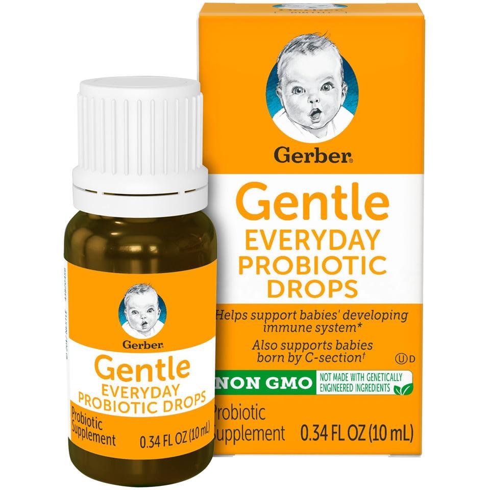 Gerber Gentle Everyday Probiotic Drops, 0.34 fl. oz