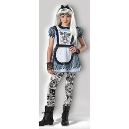 Fun World Tween Girls Malice in Wonderland Costume 10-12