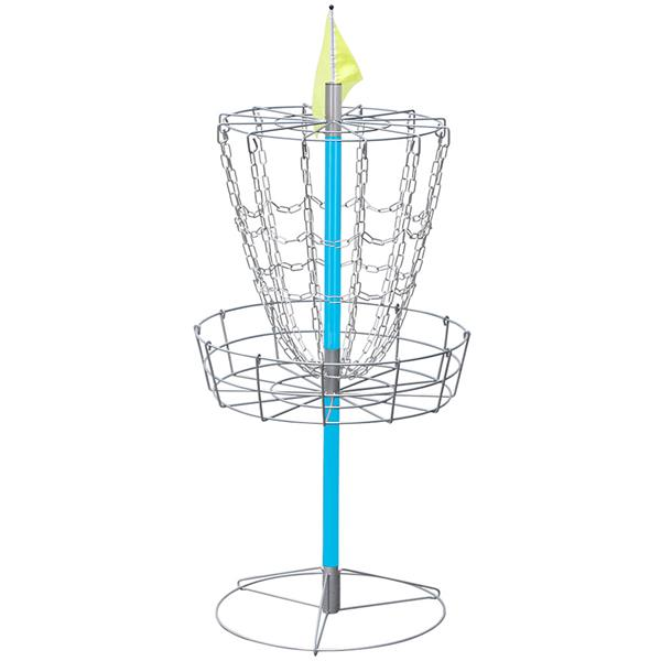 YaHeetech Portable Disc Golf Basket Lightweight Double Chains Portable Practice Target Steel Frisbee Hole Disc... by Yaheetech