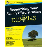 Researching Your Family History Online For Dummies - eBook