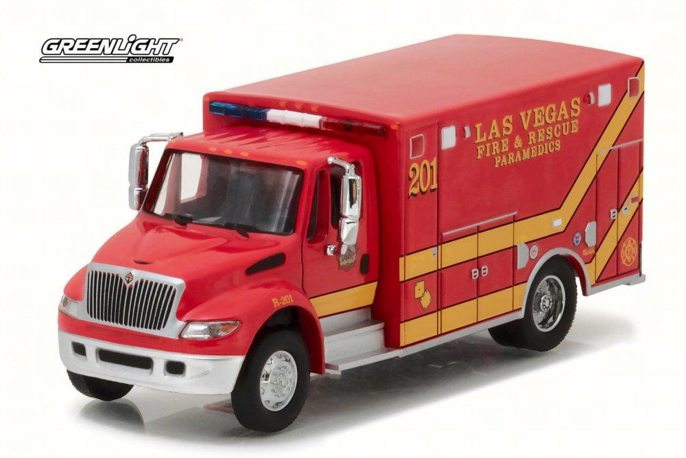Greenlight 2013 International Durastar Ambulance Fire Department Emergency