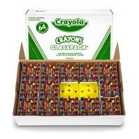 Crayola Crayon Classpack, 64 Colors, Pack Of 832