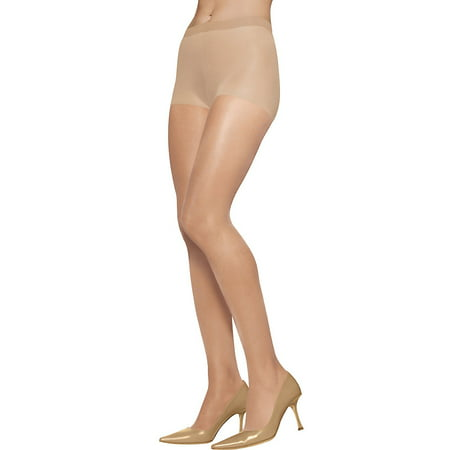 Silken Mist Pantyhose Control Top Silky Sheer Leg B Nude, 1.0 (The Real Housewives Of Orange County Nude)