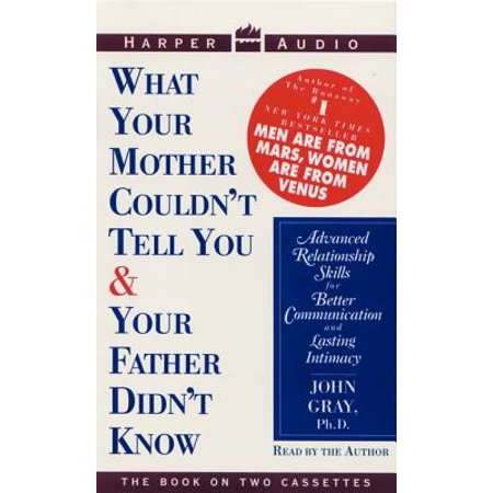 What Your Mother Couldn't Tell You and Your Father Didn't Know - Audiobook (What Is Amazon Mom)