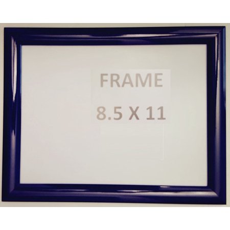 Dark Blue Snap Poster Frame Picture Frame Notice Frame 85 X 11