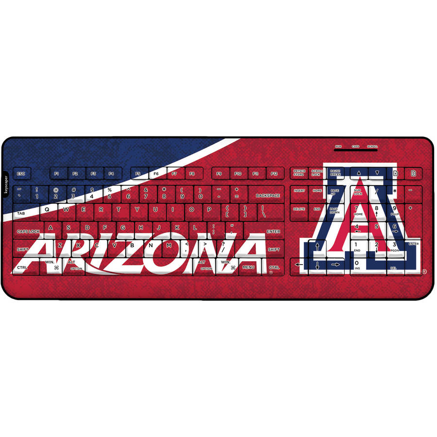 Arizona Wildcats Wireless USB Keyboard