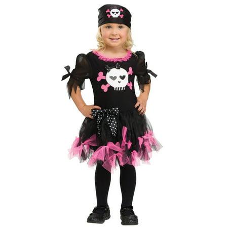 Pirate Costume - Sally Skully Costume 4-6
