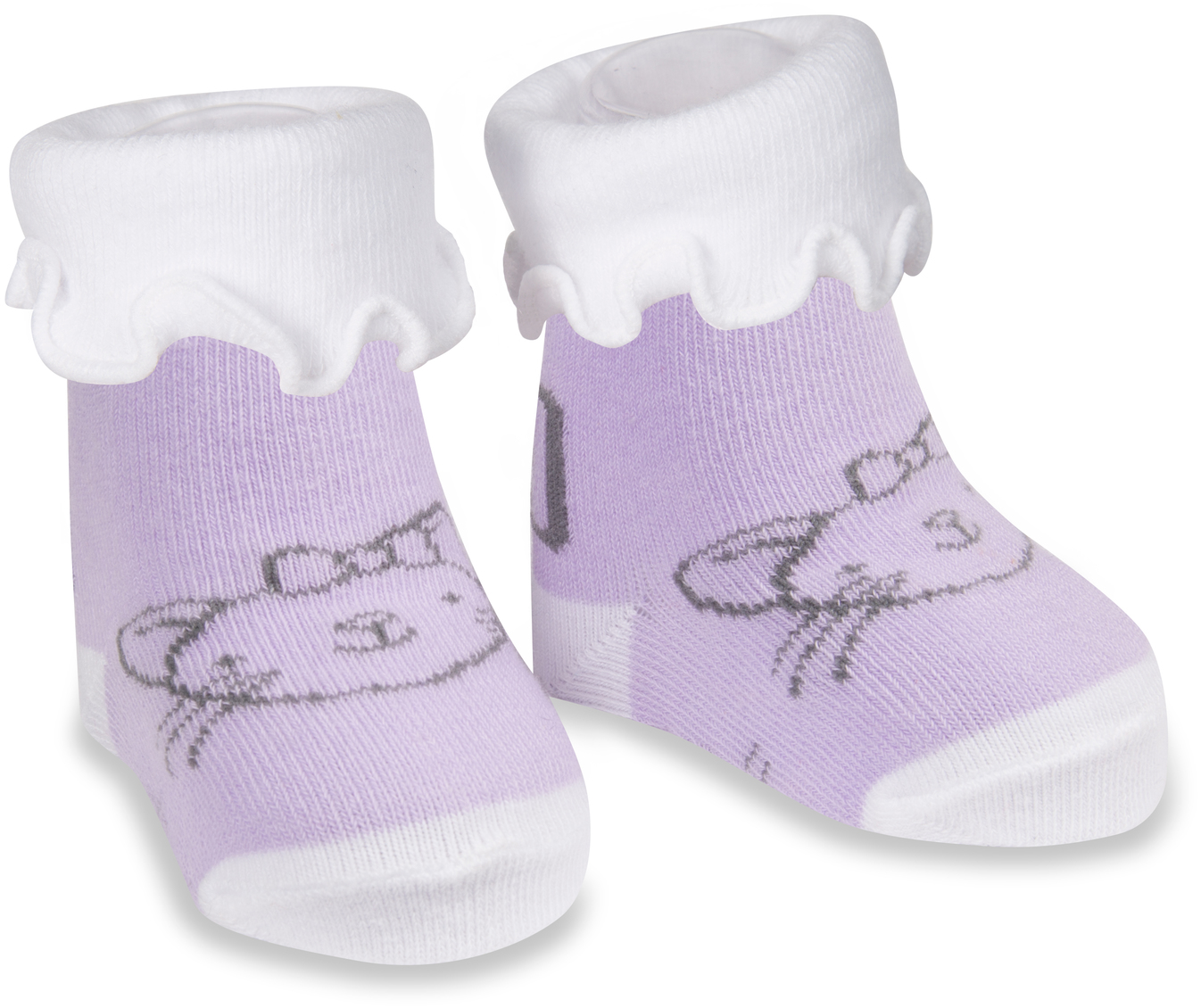 Pavilion Gift Company Baby Stretchy Purple 12-24 Months