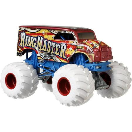(Hot Wheels Monster Trucks 1:24 Scale Ring Master)