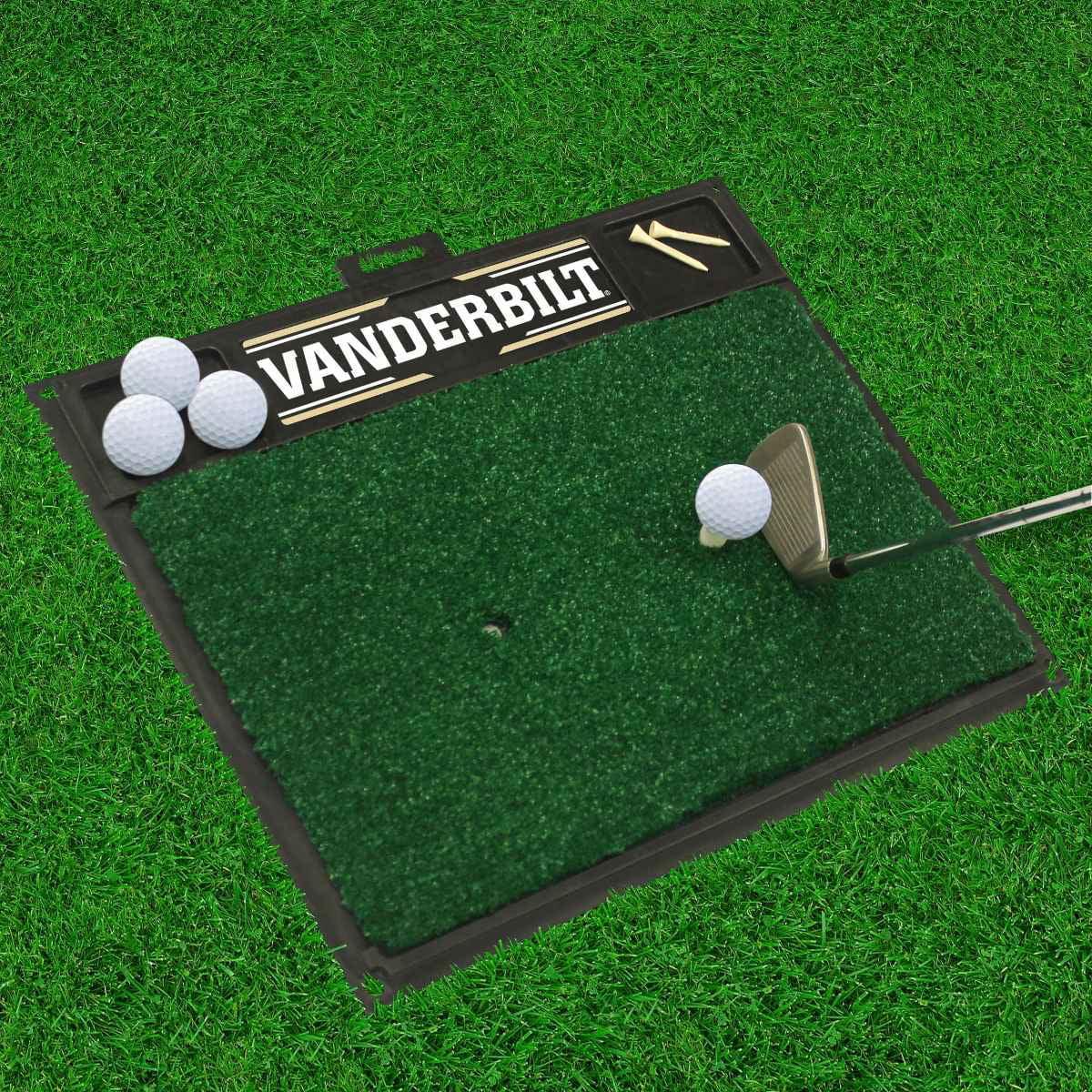"Vanderbilt Golf Hitting Mat 20"" x 17"""