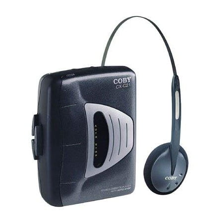 coby cx-c21 stereo cassette player (discontinued by manufacturer)