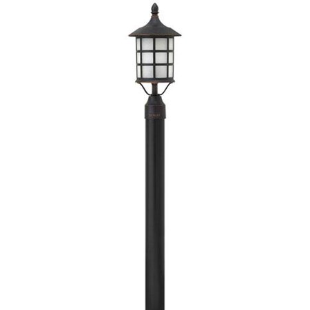 Antique Copper Outdoor Post Mount - Hillgate Bronzed Copper Eight-Inch One-Light Outdoor Post Mount