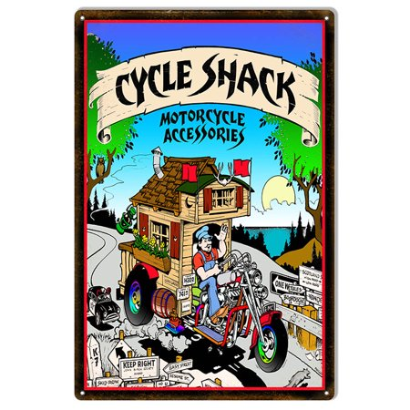Cycle Shack Accessories - Cycle Shack Accessories Motorcycle Sign 12