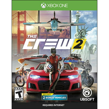 The Crew 2, Ubisoft, Xbox One, 887256029067