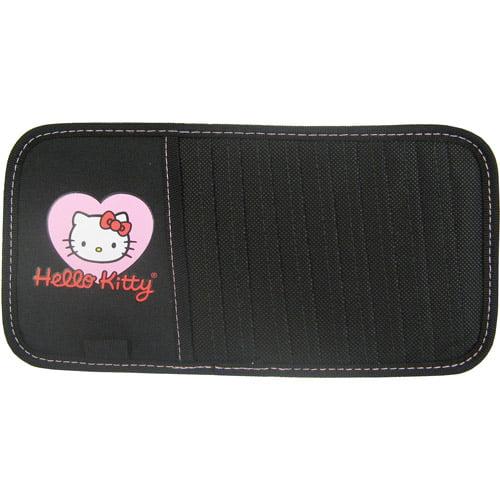 Plasticolor Hello Kitty Heart with Bow CD Visor Organizer