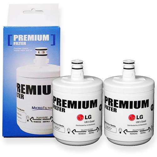 LG LT500P-2 500-Gallon Capacity Vertical Water Filter, Pack of 2