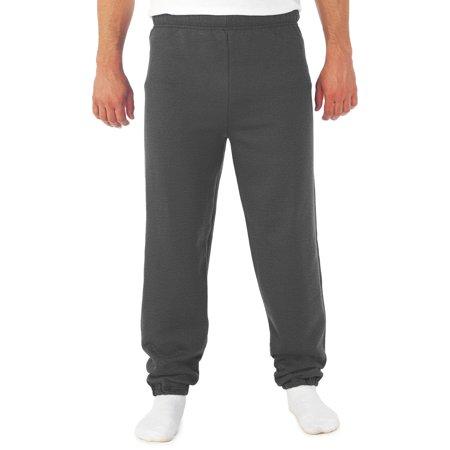 (Men's NuBlend Preshrunk Fleece Elastic Bottom Sweatpant)