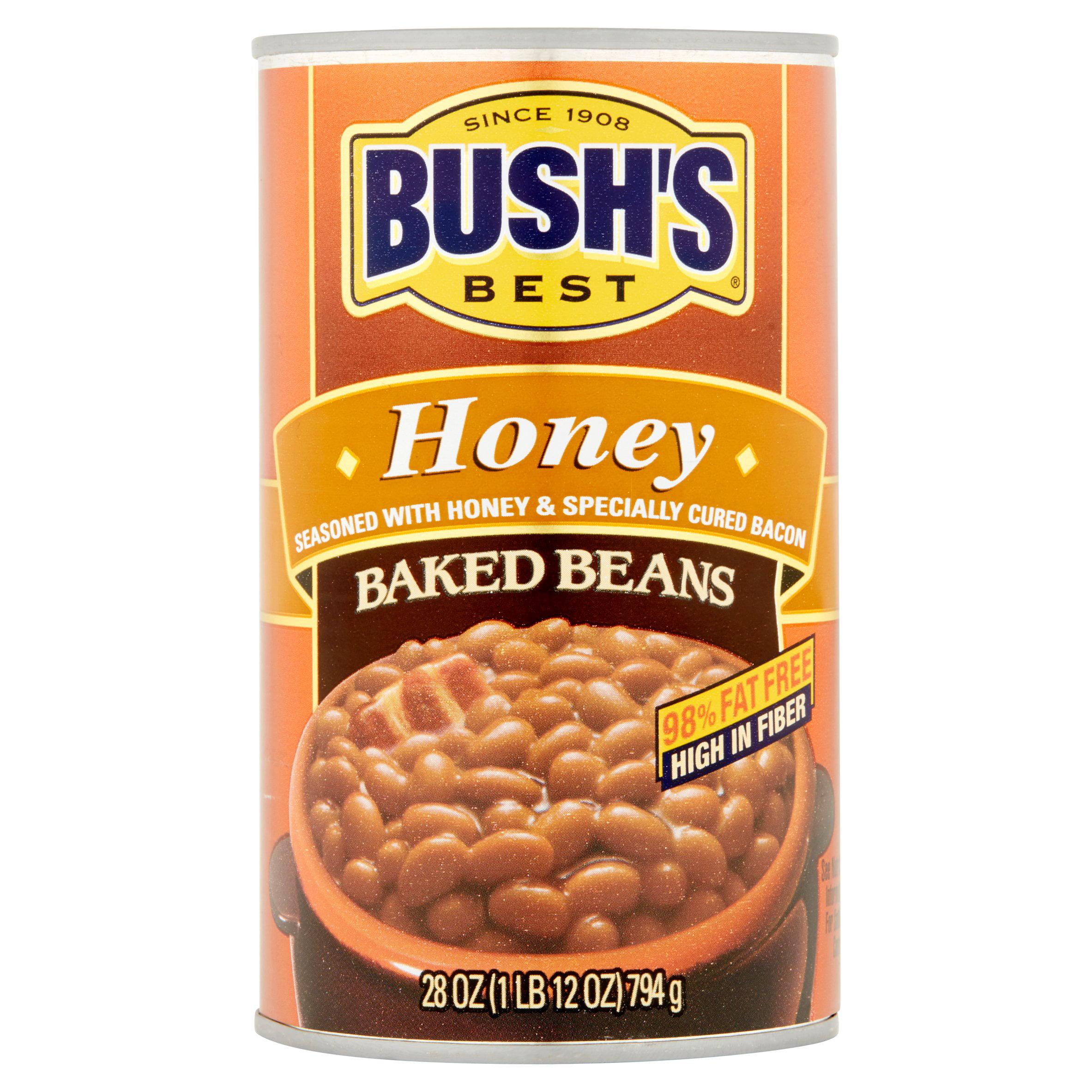 BUSH'S BEST Honey Baked Beans, 28.0 OZ by Bush Brothers & Company
