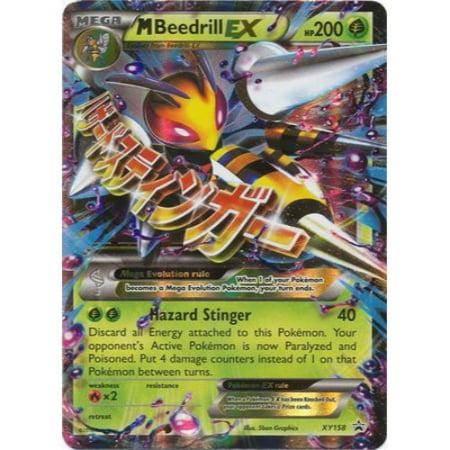 M Beedrill Ex Pokemon Card New Mega ...