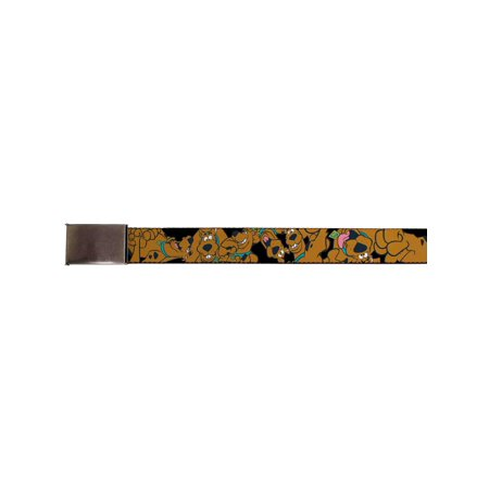 Scooby Doo Comedy Cartoon Series TV Show Scooby Collage Web Belt ()