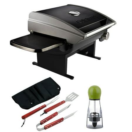 Cuisinart Portable Outdoor Tabletop Propane Gas Grill