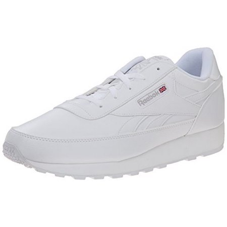 Reebok Mens CL RENAISSANCE, US-WHITE/STEEL (Renaissance Shoes)