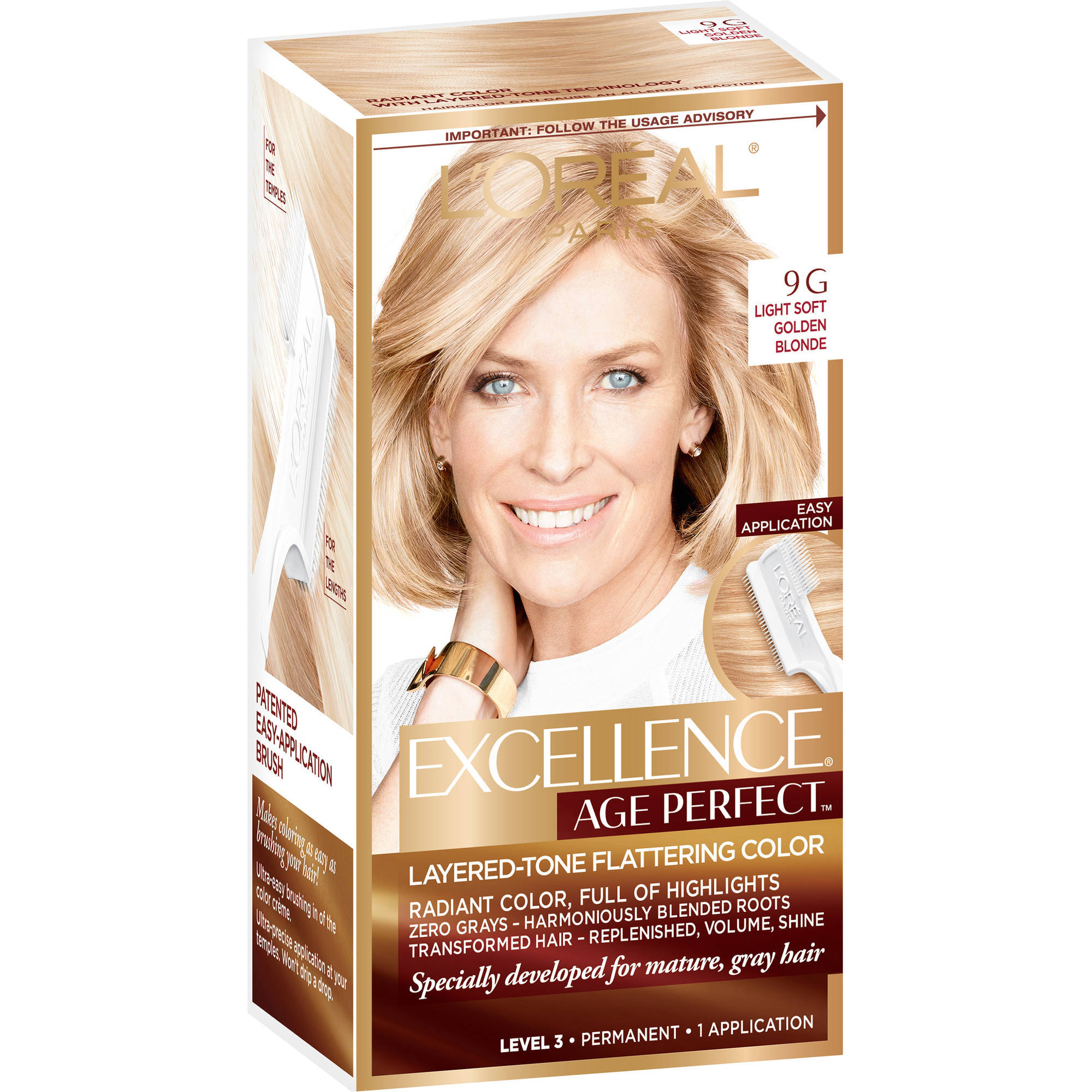 L'Oreal Paris ExcellenceAge Perfect Layered Tone Flattering Color - Walmart.com