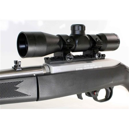 4x32 Mil-Dot Compact Rifle Scope & Ruger 1022 10-22 10/22 Scope (Ruger 10 22 Simmons 4x32 Rifle Scope)