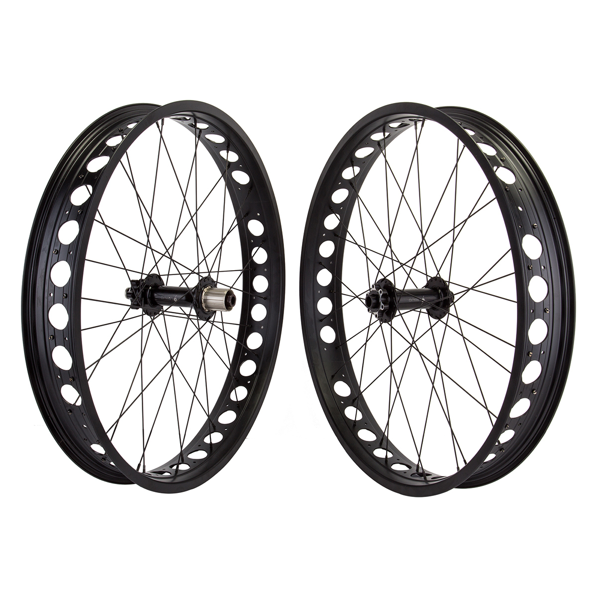 Origin8 AT-Pro80 Cruiser Wheelset 26x4 Black 8/9/10-Speed