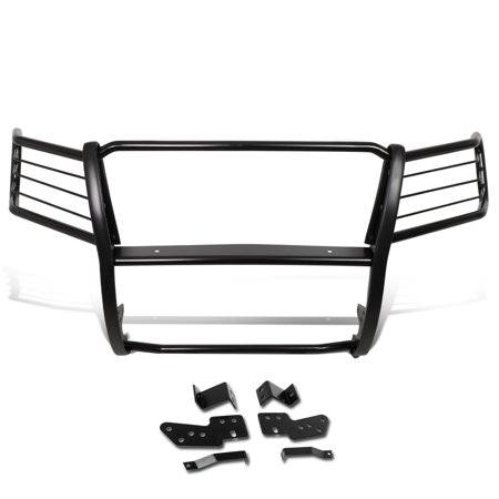 For 2007 to 2014 Chevy Suburban 1500 / Tahoe / Avalanche Mild Steel Front Bumper Headlight / Grille Brush Guard 08 09 10 11 12 13 ()
