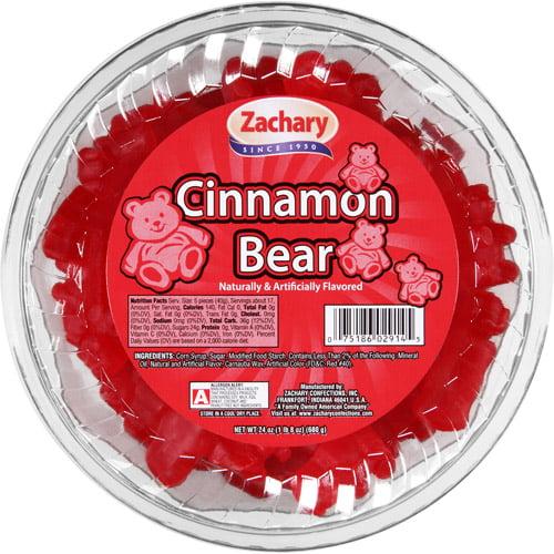 Zachary, Cinnamon Bears Candy, 24 Oz