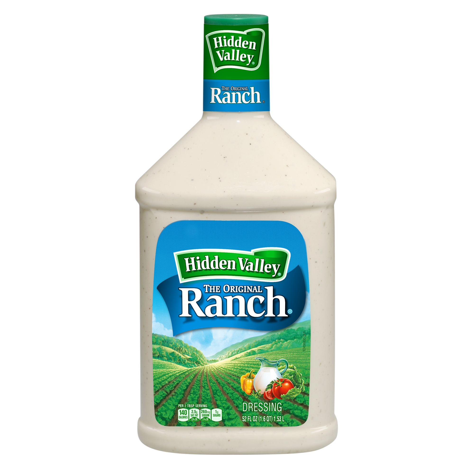 Hidden Valley Original Ranch Salad Dressing & Topping, Gluten Free - 52 oz Bottle